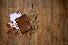 Письмо ремесла бумажное Стоковое Изображение