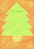 письмо рождества Иллюстрация штока