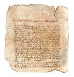 письмо старое Стоковая Фотография