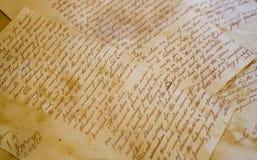 письмо Стоковые Изображения