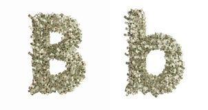 Письмо b Стоковые Фото