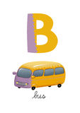 Письмо b Иллюстрация штока