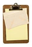письмо clipboard Стоковые Фото