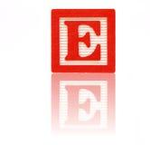 письмо e Стоковые Фотографии RF