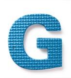 письмо g Стоковые Изображения RF