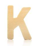 Письмо h одиночного прописного блока деревянное Стоковые Фото