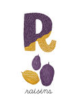 письмо r Бесплатная Иллюстрация