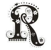 письмо r Стоковое Изображение