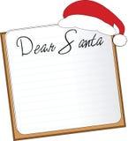 письмо santa Стоковые Фотографии RF