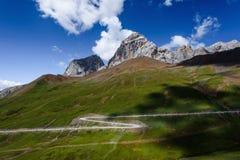 Письмо z на Mt Zuodala Стоковые Изображения RF