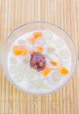 Питание молока сои тайского стиля богатое смешанное приносить Стоковая Фотография
