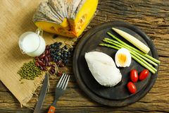 Питание Предпосылка еды завтрака еды здоровье еды Еда ест Fo стоковое изображение
