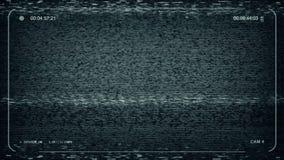 Питание CCTV расплывчатое статическое иллюстрация вектора