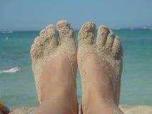 Питания песок внутри Стоковая Фотография RF