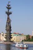 Питер большой памятник в Москва, России Стоковые Фото