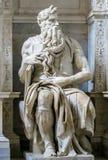 Питер в цепях - усыпальница ` s Микеланджело для скульптуры Папы Юлия II Моисей Стоковые Фото