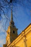 Питер и крепость Пола в Санкт-Петербурге, России Стоковые Фото