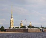 Питер и крепость Пола в Санкт-Петербурге, России. Стоковые Фотографии RF