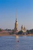 Питер и крепость Пола, Санкт-Петербург, Россия Стоковое Изображение
