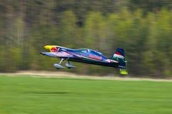 Питер Besenyei от Венгрии на Airshow Стоковое фото RF