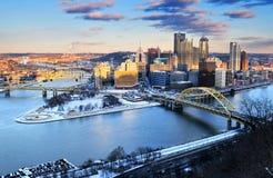 Питтсбург, Пенсильвания США стоковые изображения