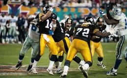 Питтсбург Steelers OL Леон Searcy #72 стоковая фотография