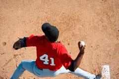 питчер бейсбола Стоковое Изображение