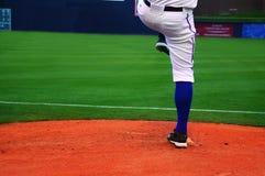 питчер бейсбола Стоковая Фотография RF