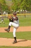 питчер бейсбола стоковое фото