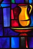 Питчер цветного стекла Стоковое Изображение