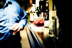 Питье вверх стоковая фотография