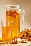 питье высушенное яблоками Стоковые Изображения RF