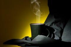 питье горячее Стоковые Фотографии RF