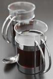 питье горячее Стоковое Фото