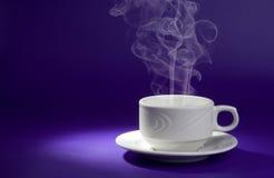 питье горячее Стоковая Фотография
