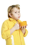 питье горячее Стоковая Фотография RF