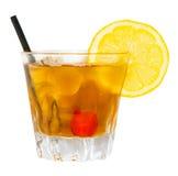Питье Джона Collins Стоковые Фотографии RF