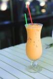 питье заморозило чай тайский Стоковые Изображения RF