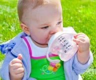 питье имея Стоковое фото RF