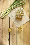 Питье лимонного сорга тайское травяное Стоковое Изображение RF