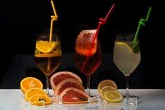 Питье и еда стоковые фотографии rf