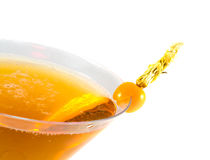 питье коктеила Стоковое Фото