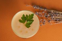 Питье коктеиля Petrucho на таблице бара в ресторане Стоковые Изображения RF