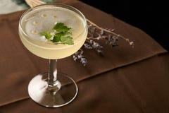 Питье коктеиля Petrucho на таблице бара в ресторане Стоковое Изображение