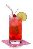 Питье коктеиля виска Ширли Стоковое Изображение
