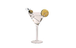 Питье коктеиля Мартини водочки Стоковая Фотография