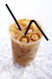 питье кофе холодное Стоковая Фотография RF