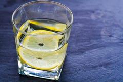 Питье лимона стоковое изображение