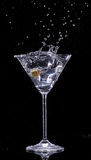 Питье Мартини Стоковое Изображение