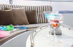 Питье на палубе Стоковая Фотография RF